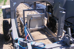 hydraulisch systeem maakt automatisering aspergeteelt mogelijk.
