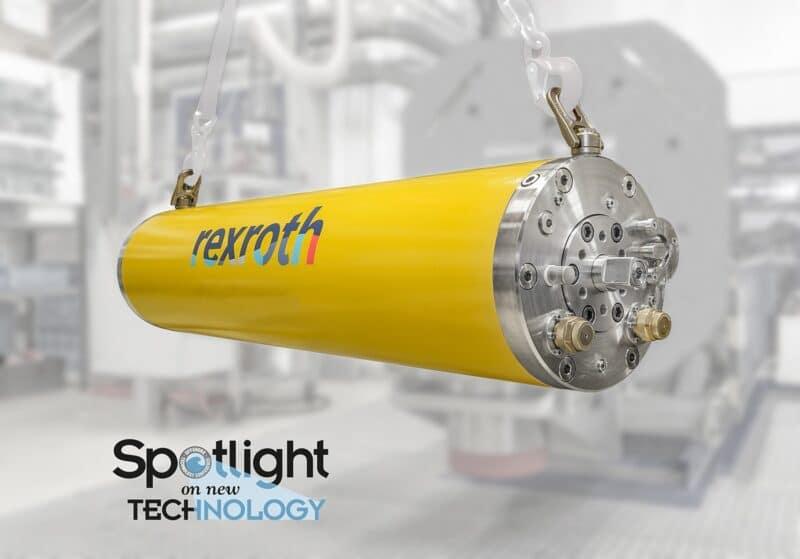 Baanbrekende innovatie: Bosch Rexroth combineert elektrohydraulische en elektromechanische systemen in SVA