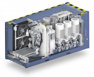 De Hydraupack 1500E van Hydrauvision is een compact en efficiënt elektrisch hydraulisch systeem.