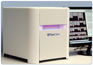 FlowCam flow imaging cytometer en deeltjes analyse apparaat